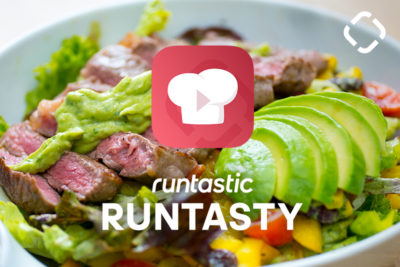 Power-Packed Post-Workout Meal: Salad with Steak & Avocado