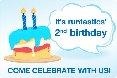 runtastic celebrates its 2nd birthday – celebrate with us