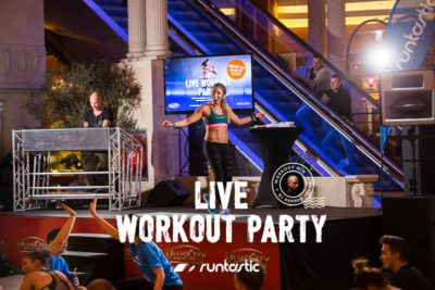 Gemeinsam schwitzen – Runtastic LIVE Workout Party