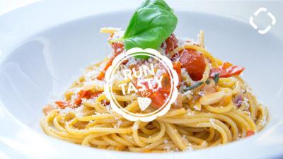 Casserole de spaghettis végétarienne
