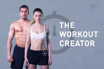 Des entraînements sur mesure avec le Workout Creator
