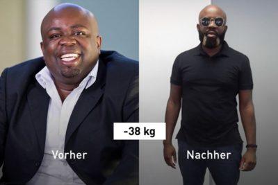 -38 kg: So holte sich Hafeni sein Leben ohne Medikamente zurück