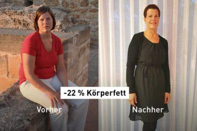 -22 % Körperfett: Wie Ilona nach der Schwangerschaft wieder fit wurde