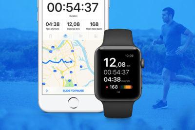 Runtastic pour Apple Watch : second écran et appli indépendante