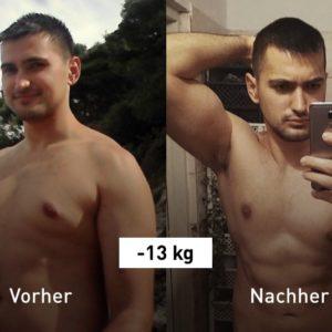 -13 kg: Mit Laufen und Bodyweight-Training zum Wunschgewicht