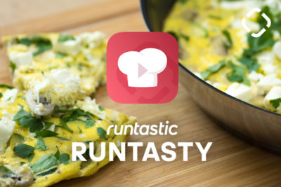 Zucchini Mushroom Frittata >> Low-Carb and Packed with Protein