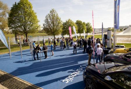 Runtastic Fitness Park Eröffnung