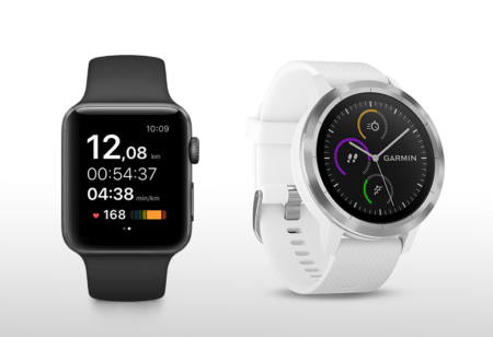 Two smartwatches