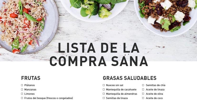 Suficiente Lista de la compra: los alimentos que siempre deberías tener en  MY33
