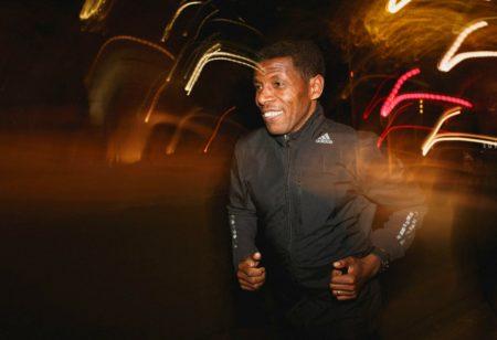 Haile Gebrselassie running