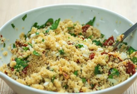 Light summer recipe with quinoa