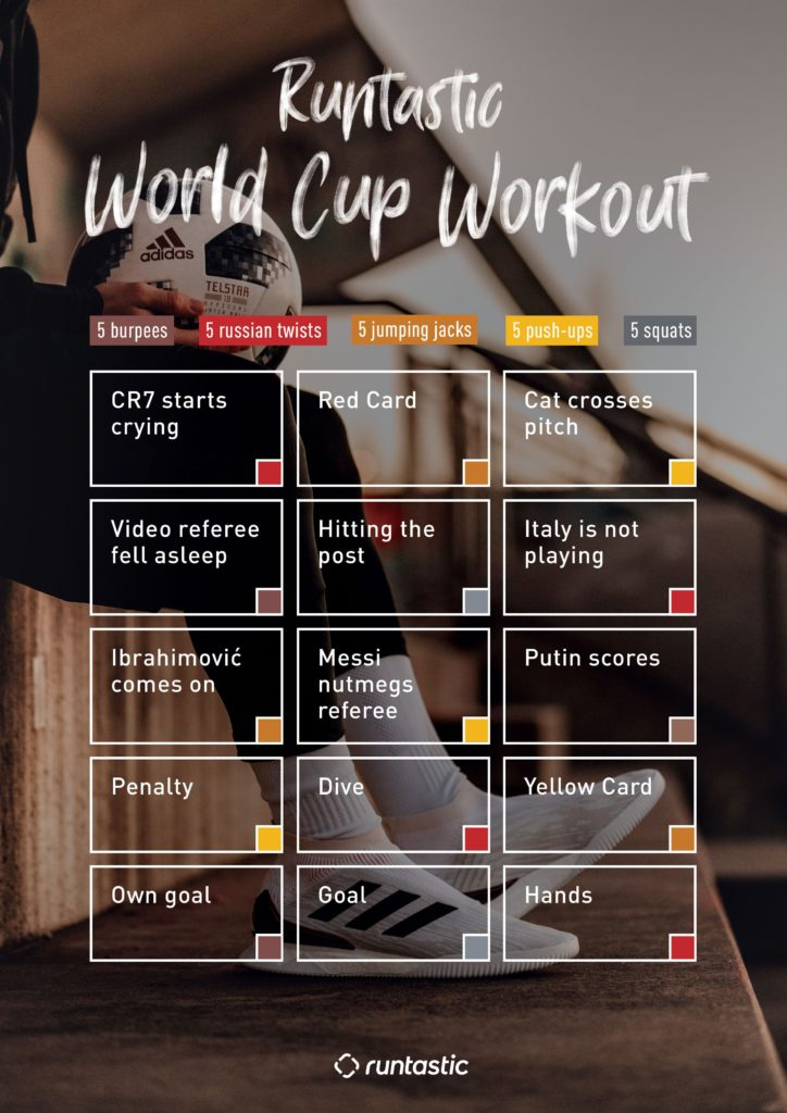 Fit at the World Cup: Sweat with Runtastic in Front of the TV!