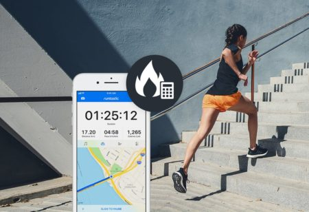 Calorie calculation in Runtastic App