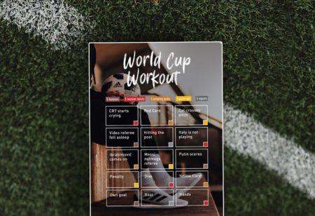 Fußball Weltmeisterschaft 2018 kostenloses Bodyweight-Training