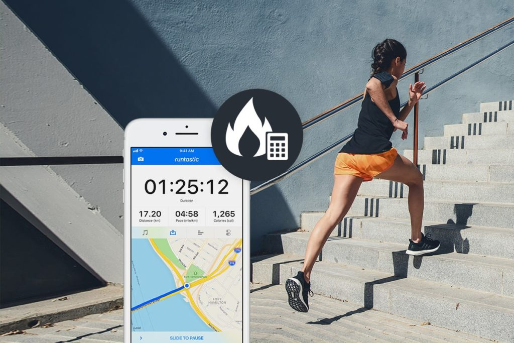 Calorie calculation in Runtastic App