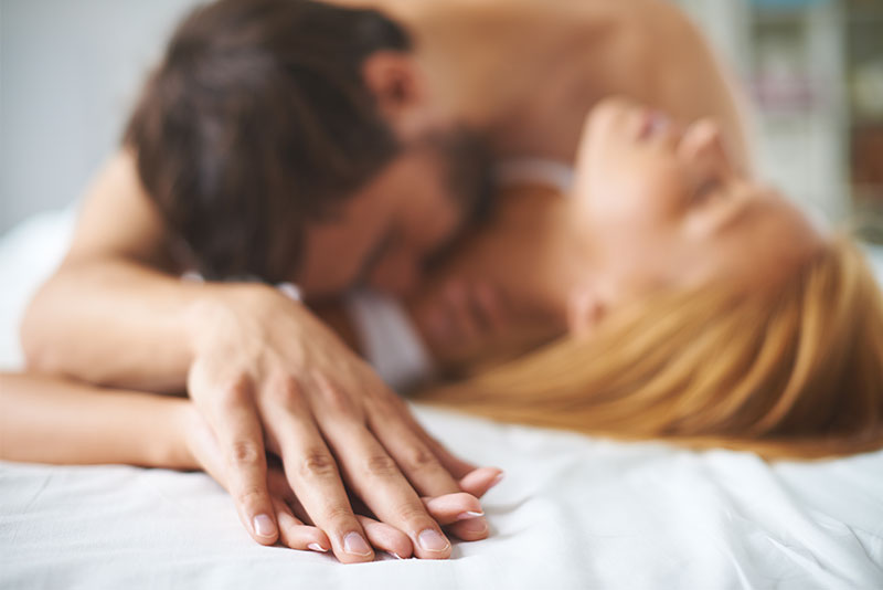 Couples improve sex life