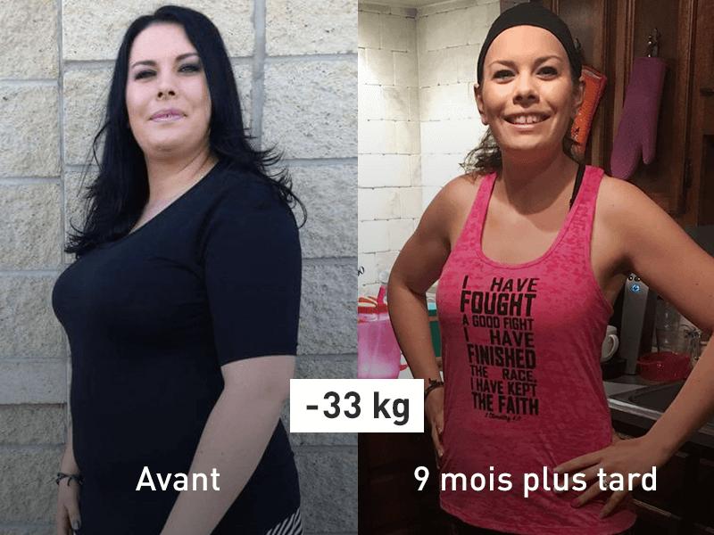 Perdre du poids 30 kg