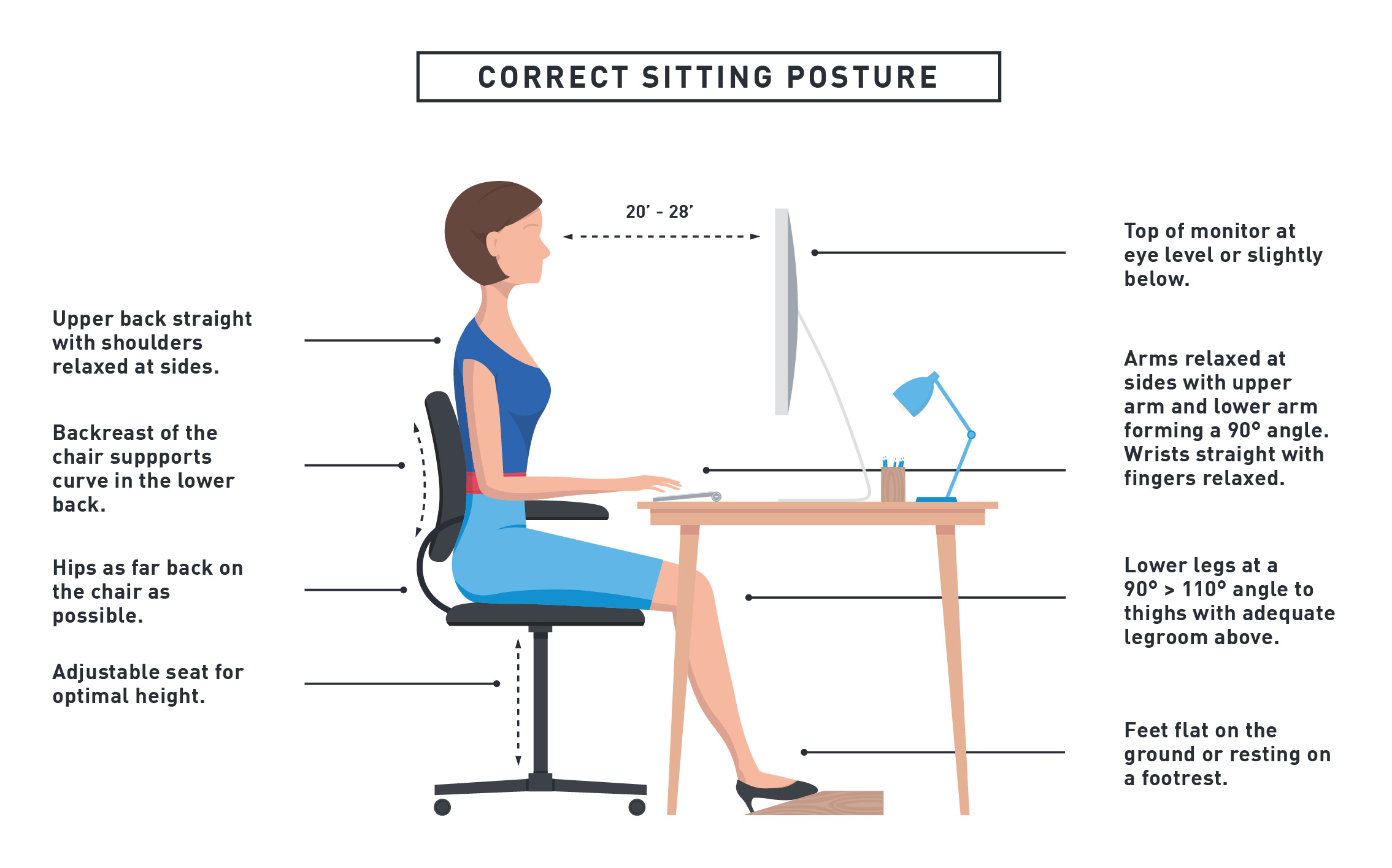 6 health risks of sitting at a desk all day