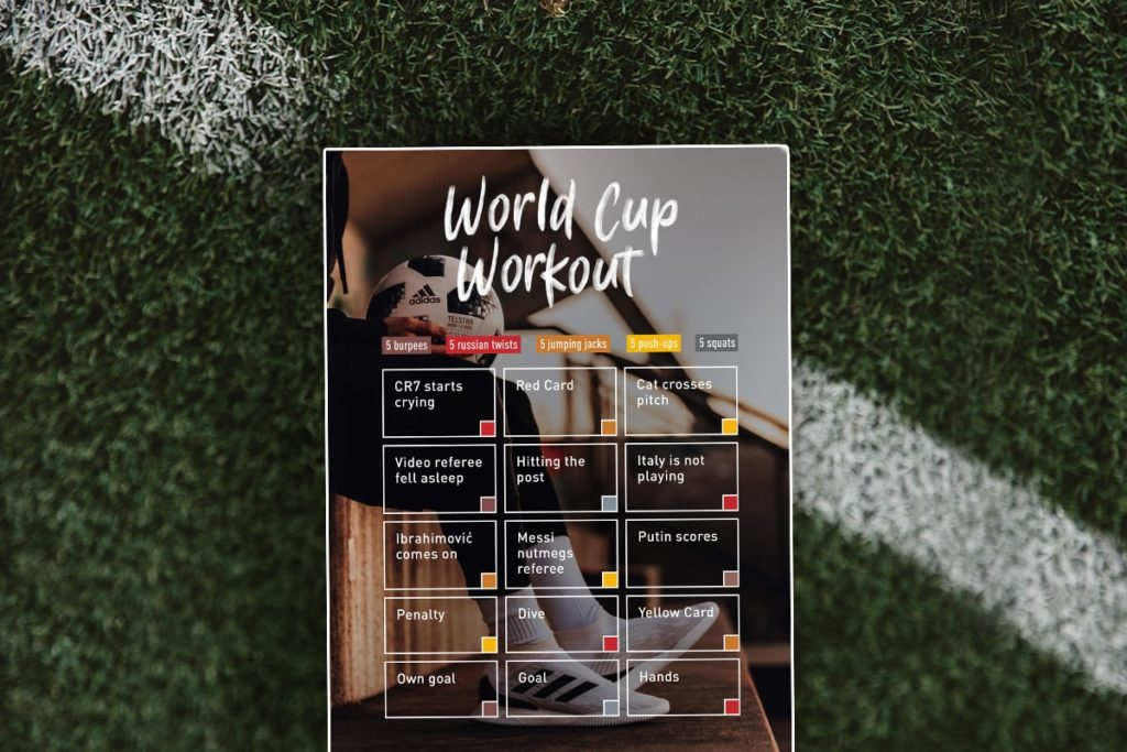 World Cup Workout