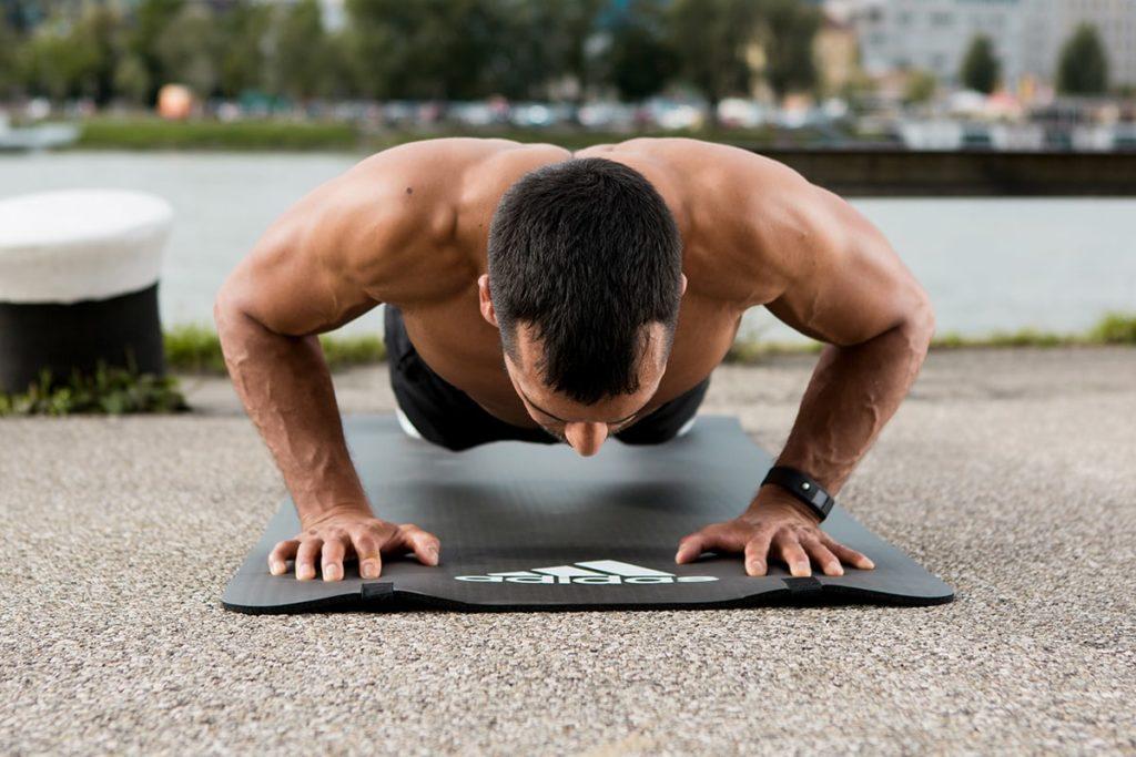 Push Ups für Muskelaufbau