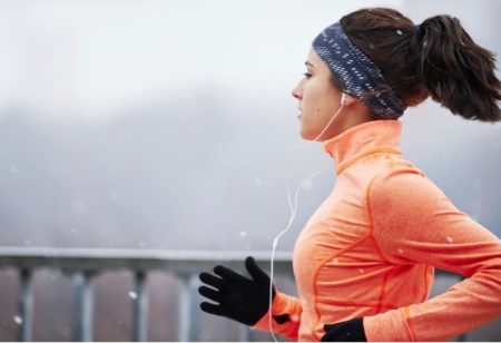 running in winter