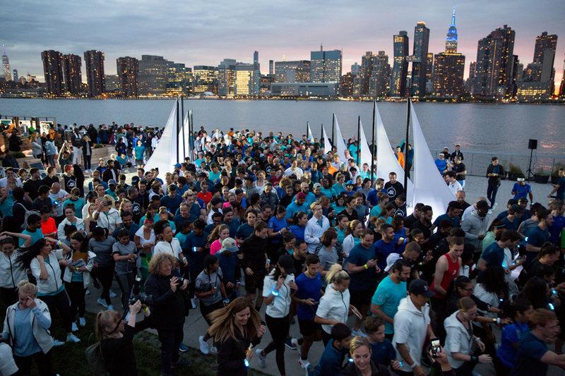 Running for the oceans in New York