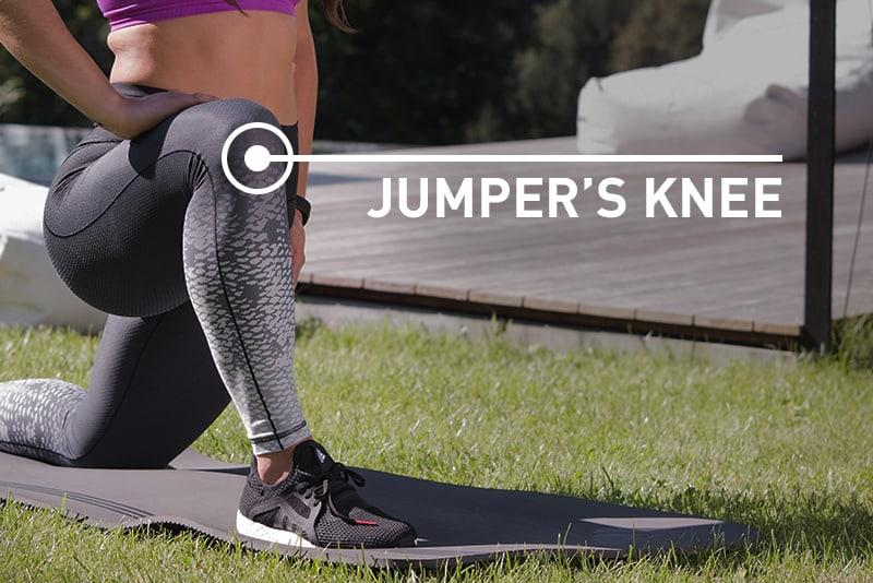 Jumper's Knee - Schmerz-Ortung