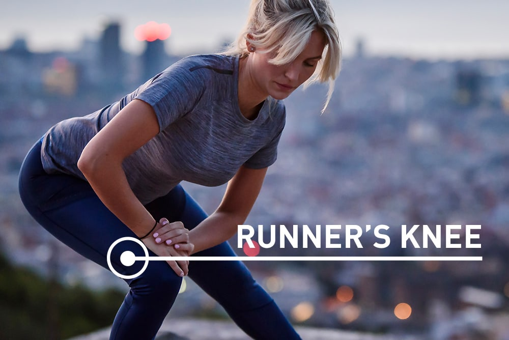 Runner's Knee where the pain is located