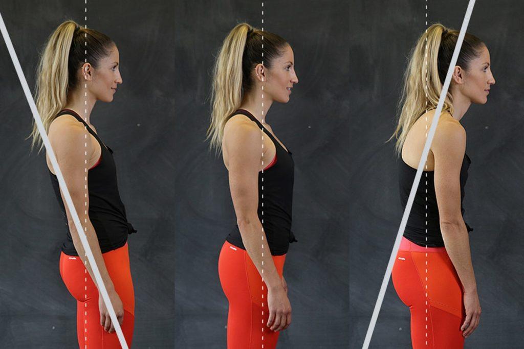 Good and bad posture