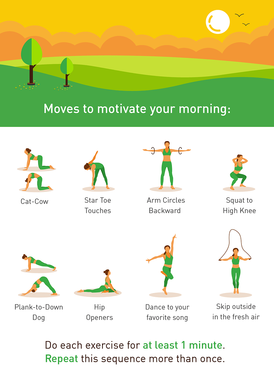 Rise & Shine: Movements to Jumpstart Your Day