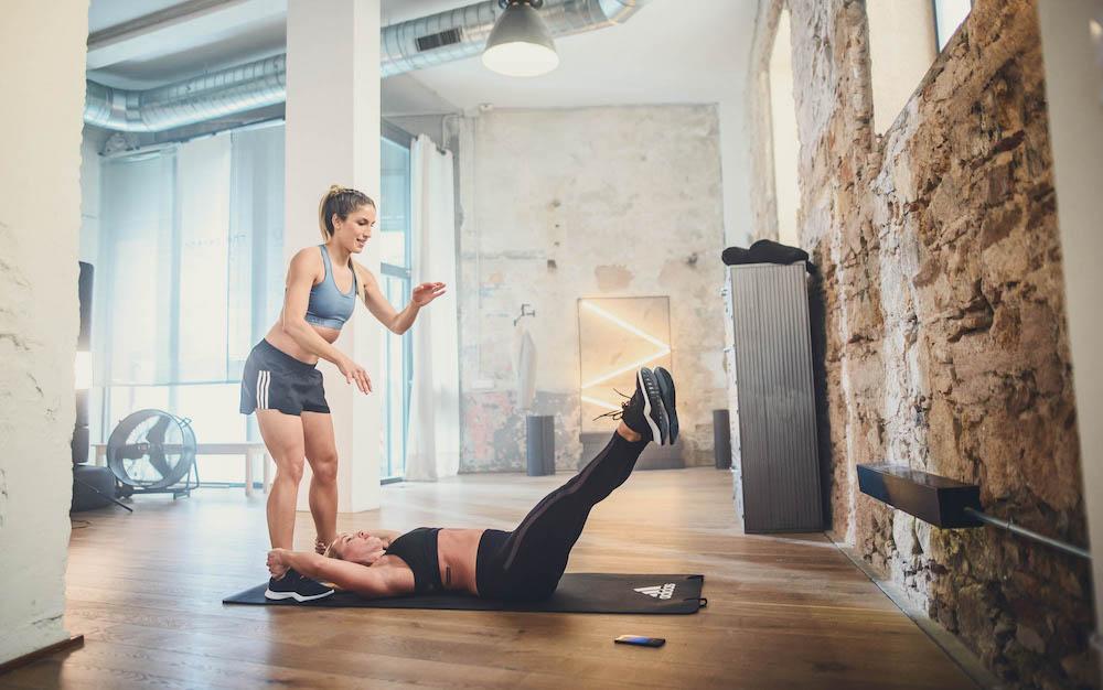Friends workout