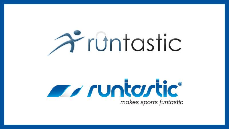 Image of old Runtastic logos.