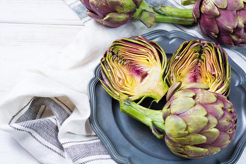 Alimentos detox: alcachofas