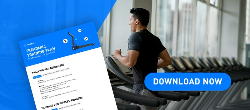 treadmill training pdf