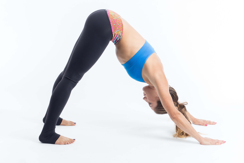Yoga Poses for Runners - Downward Dog
