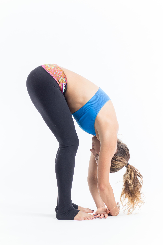 Yoga Poses for Runners - Standing forward fold
