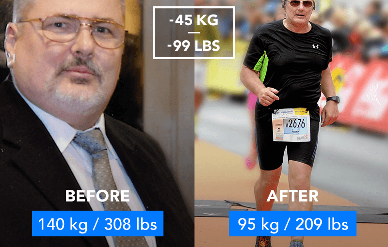 From 140 Kg 308 Lb To Running A Half Marathon