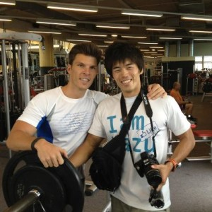Japanes Blogger Kazu and runtastic CEO Florian Gschwandtner