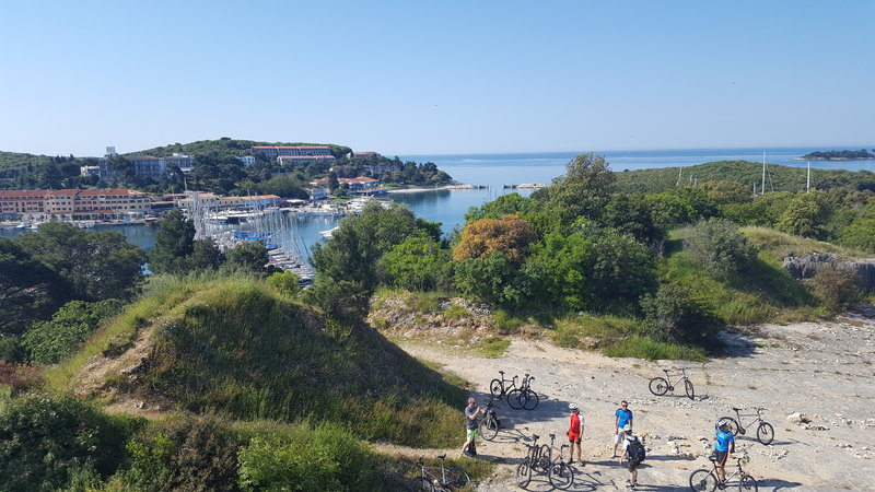 Bike-ride on the Croatian coast.