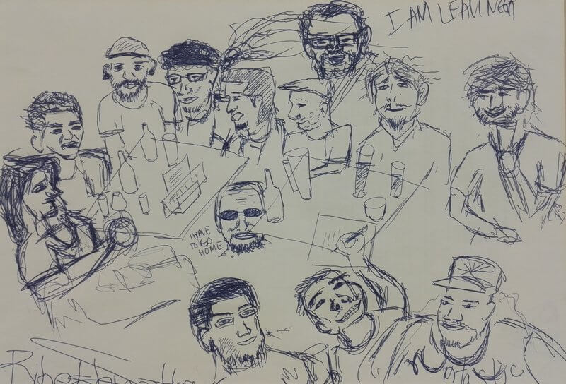 A drawing from the whole team-