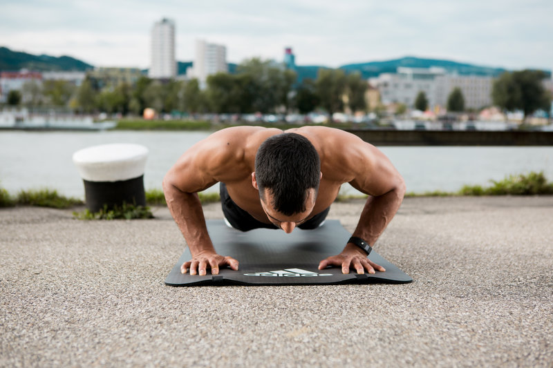 A guy who makes a push-up.