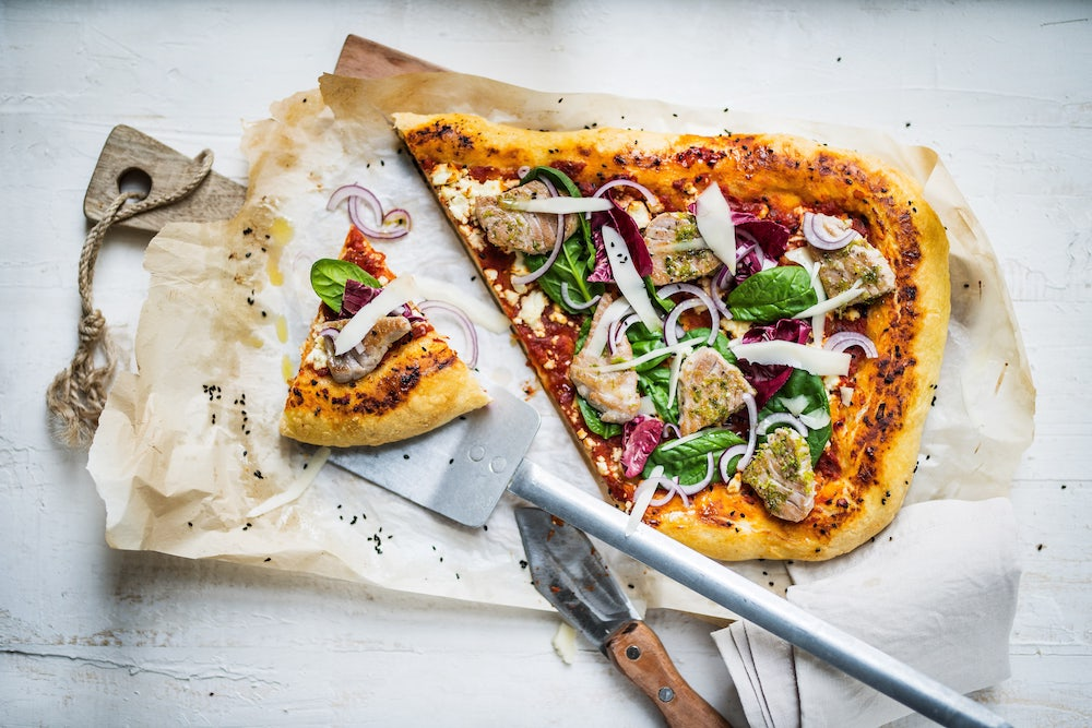 pizza comfort food
