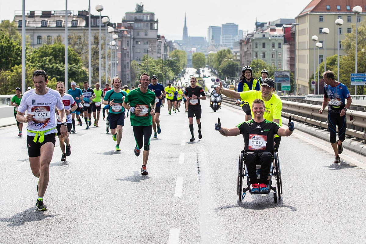 Wings for Life Run in Vienna