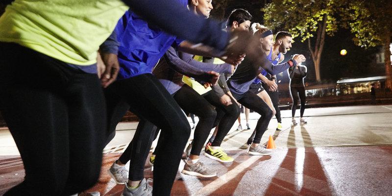 maratona linea di inizio