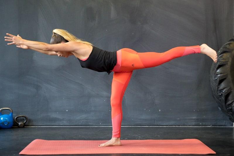 warrior 3 yoga pose