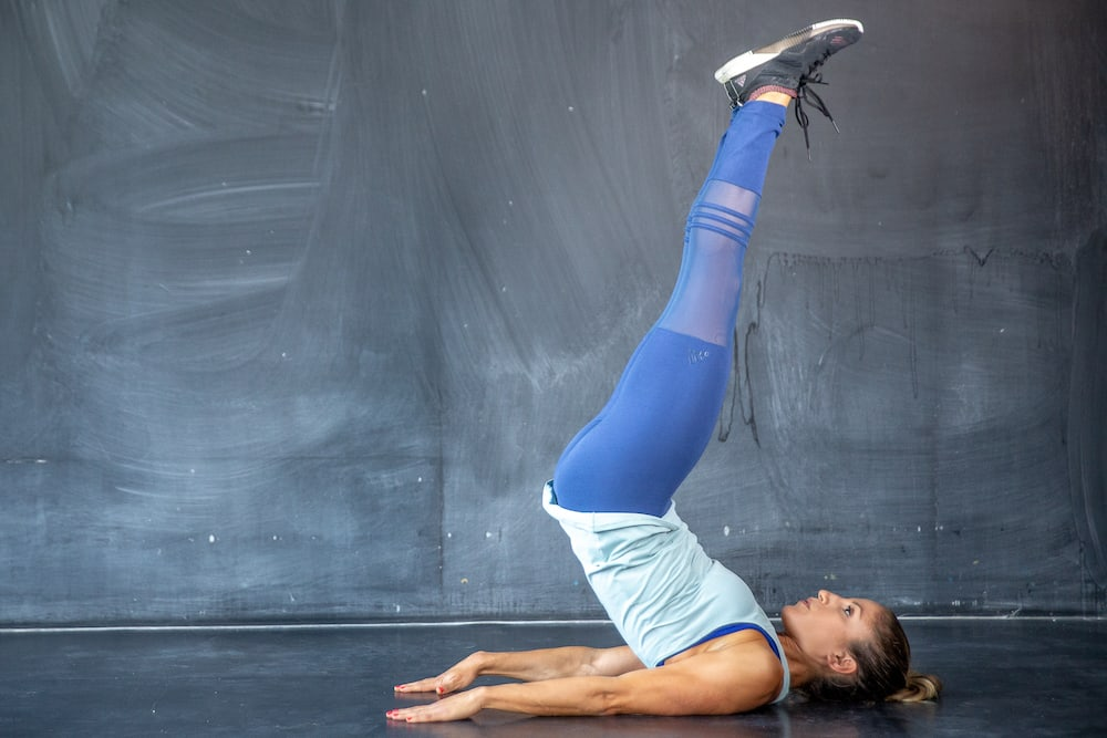 Leg Raises + Reverse Crunch