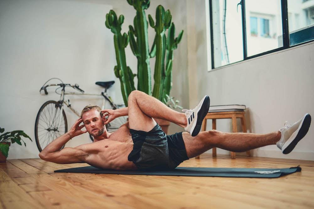 Man mach Bodyweight Übungen