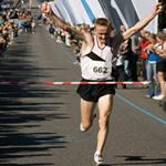runtastic marathon finish line
