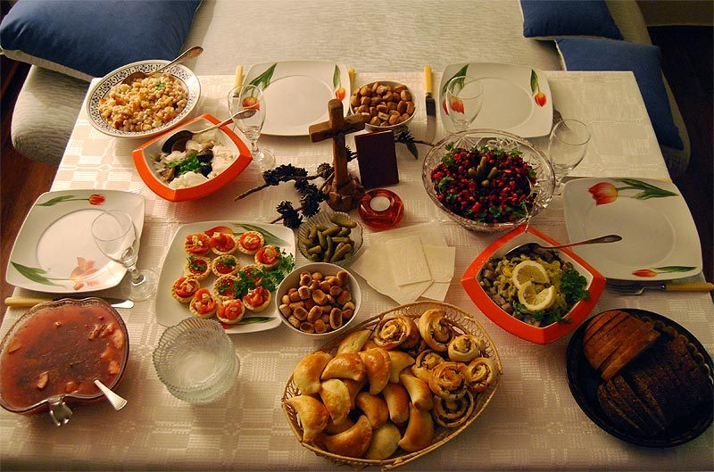 Lithuania Dinner Table