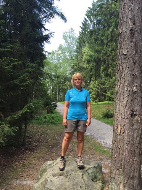 Inge Linke lost 44 kg.